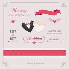 Romantic Date Invitation Template Romantic Wedding Invitation Template Vector Free Download