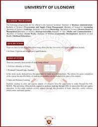 University Of Lilongwe E Magazine Pages 1 7 Text Version