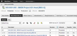 Autodesk Fusion Lifecycle, Bill Of Materials (Bom) | D2M3