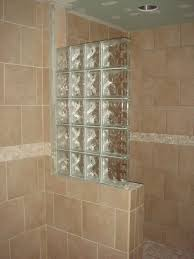 shower glass wall height lovely half wall shower design