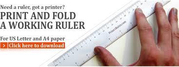Free Printable Rulers And Graph Paper Printaruler Com