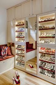 closet shoe rack with removable cover closet contemporary and shelf lighting