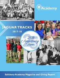 Salisbury Academy Magazine and Giving Report 2017-18: 25th Anniversary  Issue by salisburyacademy - issuu