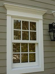 Garage Door garage door exterior trim photographs : Inspirations: Stunning Exterior Window Trim Ideas For Luxury Home ...