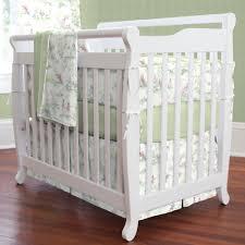 nursery rhyme toile sage mini crib bedding share save 1