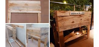 diy wooden pallet furniture. simple diy tutorial create an urban garden for growing vegetables  diy pallet  furniture ideas click on diy wooden