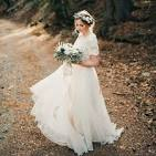 Modest wedding dresses with sleeves pictures