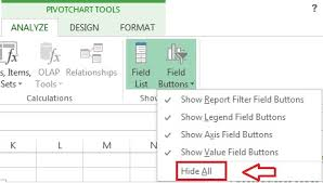 How To Hide Field Buttons In Pivot Chart Chapter 9 Pivot Chart Pk An Excel Expert