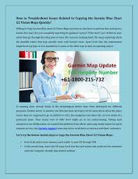 G2 Vision Chart How To Troubleshoot Issues Related To Copying The Garmin