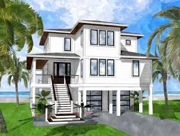 modern house plans coastal house