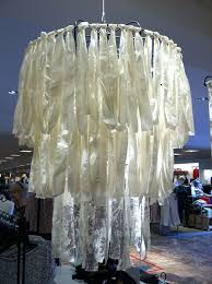 event chandelier fabric best fabric chandeliers images on fabric chandelier design 71