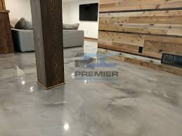 epoxy flooring basement. Gray Epoxy Flooring Columbus Ohio Basement T