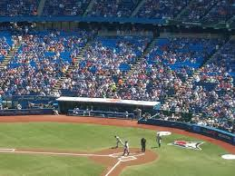 Rogers Skydome Seating Chart Toronto Blue Jays Seating Guide Rogers Centre