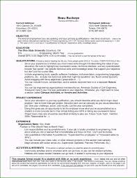 Free Resume Templates For No Work Experience Customized Resume No