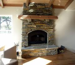 Mantel On Stone Fireplace Craftsman Style Fireplace Designs Fireplace Fir Cherry And