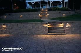 hardscape lighting retaining wall lighting hardscape lighting installation