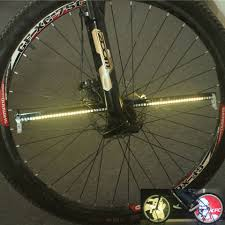 Bike Tire Lights 128 Led Diy Bicycle Lights Bike Wheel Spokes Light Colorful Programmable Motor Tire Luces Lamp Image For Night Riding Bicicleta