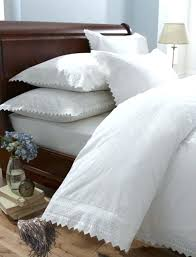 vintage white lace duvet cover white lace duvet covers uk cream vintage broderie anglaise lace bedding