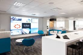 the design office. De Beers Mining Recently Relocated Their Canadian Headquarters To Calgary,\u0026nbsp;positioning Themselves Closer The Design Office