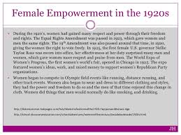 women in the s female empowerment