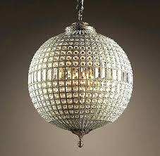 crystal bud chandelier small frightening large round