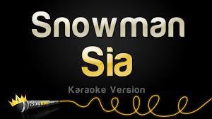 Sia - Snowman (<b>Karaoke</b> Version) - YouTube