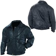napoline roman rock design genuine leather jacket size xl