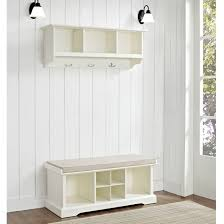 Entryway Storage Bench Coat Rack Storage Bench With Coat Rack Cube Cozy Entryway Storage with 37