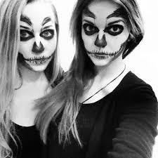 skull makeup 2