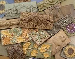 ceramic tile handmade. Plain Handmade Handmade Ceramic Tiles Animal Pinecone Flower And Leaf Motifs By Terry  Tiles For Tile D