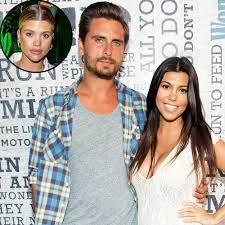 Scott Disick and Kourtney Kardashian ...