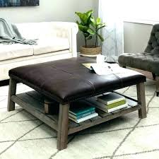 world market ottoman tufted coffee table square leather favourable tray ottom
