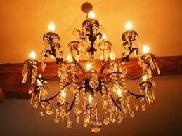 candlestick chandelier lamp lighting light crystal glass crystal bulbs
