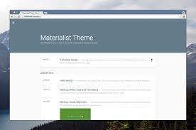 Small Picture 30 Material Design WordPress Themes for Free Download Premium