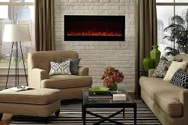 paramount mirage wall mount electric fireplace image 3 50 puraflame alice recessed