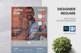 Modern Resume Color Free Creative Psd Resume Template Premium Ms Word Resume