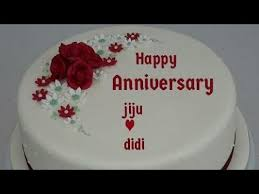 Anniversary Cake Di And Jiju The Cake Boutique