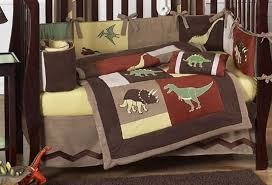 baby dinosaur crib bedding