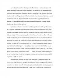 the great gatsby identity essay essay zoom