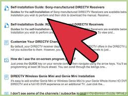 2 easy ways to install directv satellite tv wikihow Wiring Diagram For Directv Hd Dvr install a directv satellite receiver yourself image titled install directv satellite tv step 4 wiring diagram for directv dvr