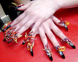 Snazzy Very Easy Nail Designs Water Polish Design Really Easy Nail ...