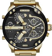 diesel mr daddy 2 0 4 time zone oversize watch dz7333 men s diesel mr daddy 2 0 4 time zone oversize watch dz7333