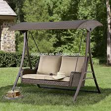 outdoor hanging furniture. 2016 England Style Rattan Garden Swing With Canopy Outdoor Hanging Chair Sets For Adults Furniture W