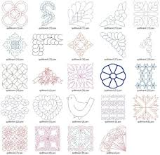 Embroidery Quilt Patterns Free | makaroka.com & 17 Free Machine Quilting Designs Images Free Motion Adamdwight.com
