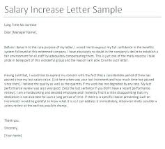 Rental Increase Letter Sample Salary Delay Letter Employee Increase Template Pay To Grievance