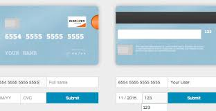 Card.js - Better Credit Card Form In One Line Of Code | Web ...
