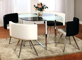 glass dining table set round kitchen and chairs top india