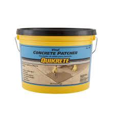 quikrete 10 lb vinyl concrete patch repair