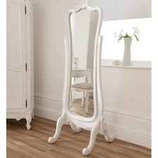silver floor mirror. Home Decor Silver Floor Mirror Free Standing White Tall Wall Mirrors Big