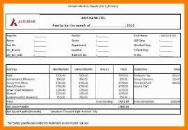Salary Slip Word Format Download Corporate Salary Slip Excel Template Exceldataprowhat Is